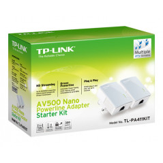KIT INICIAL CON MINI ADAPTADOR POWERLINE TP LINK