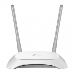 TP LINK TL WR840N router inalambrico Banda unica 24 GHz Ethernet rapido Gris Blanco