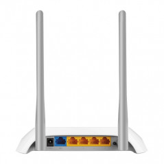 TP LINK TL WR850N router inalambrico Banda unica 24 GHz Ethernet rapido Gris Blanco