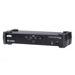 Aten CS1824 AT G interruptor KVM Negro