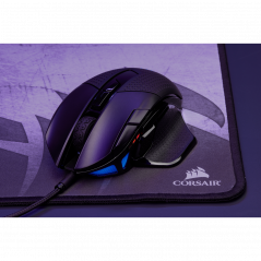 Corsair Nightsword RGB raton USB optico 18000 DPI mano derecha