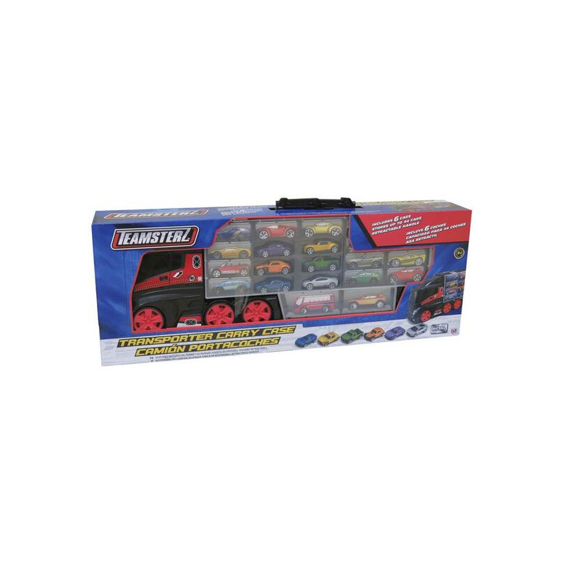 CAMION PORTACOCHES C/6 COCHES METAL